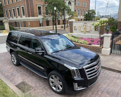 SUV - Cadillac Escalade @ Lytle Park Hotel